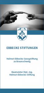 Flyer der Ebbecke Stiftungen