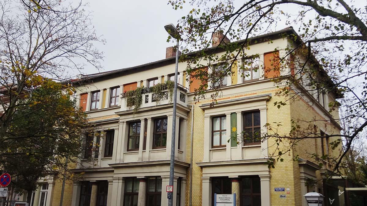 Das Ebbecke Haus an der Schleinitzstraße 17 in Braunschweig